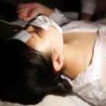 熱が出て保健室で寝ているズブ濡れJK四ツ葉うららに大量発射!
